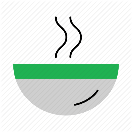 Bowl, Dish, Food, Hot, Household, Plate, Soup Icon