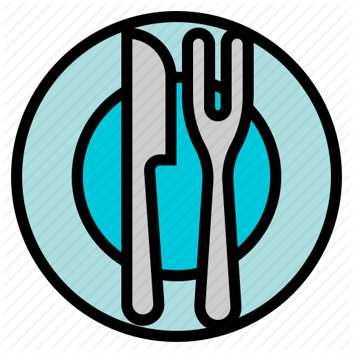 Dish, Food, Kitchen, Plate Icon