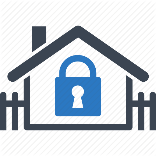 Home Mortgage, Real Estate, Safe, Secure Icon