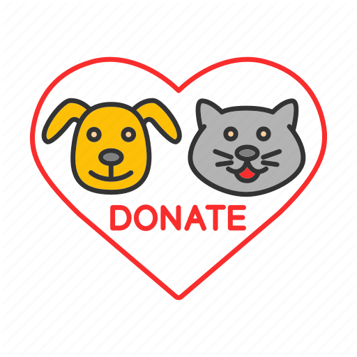 Animals, Care, Charity, Donate, Donation, Fundraising, Homeless Icon