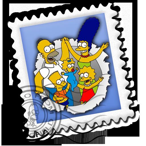 Mail Simpsons Icon Simpsons Iconset Gordon Irving
