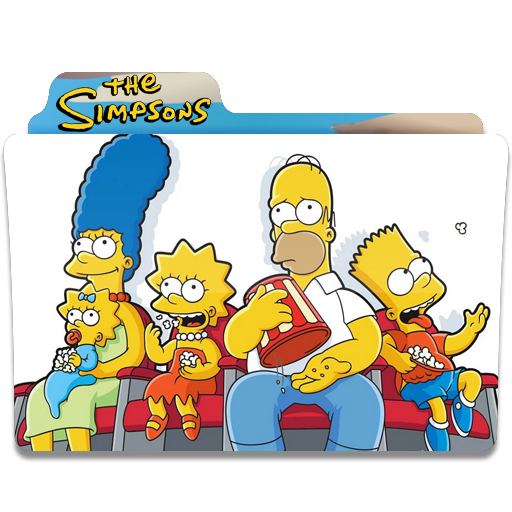 The Simpsons, Cine, Folder, Folders Icon Free Of Simpsons Folder