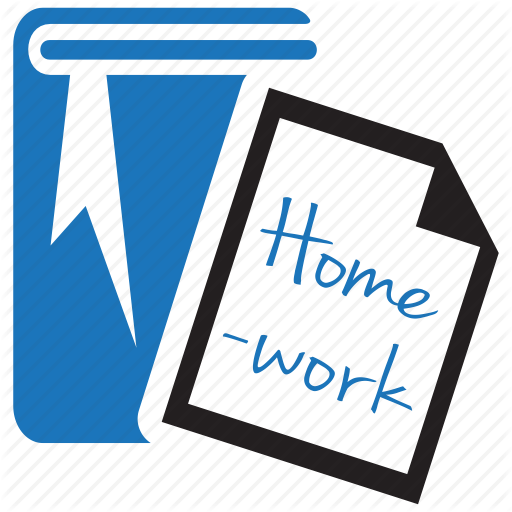 Homework Icon Vector