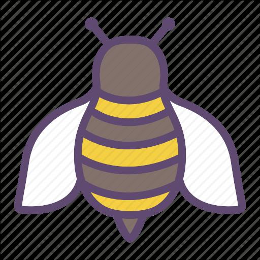 Bee, Bumblebee, Honeybee, Insect Icon