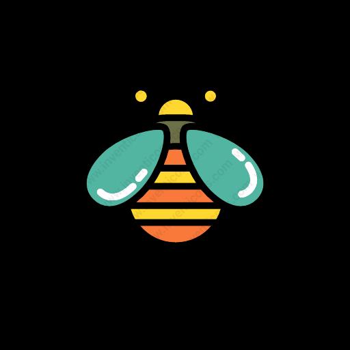 Download Bee Icon Inventicons