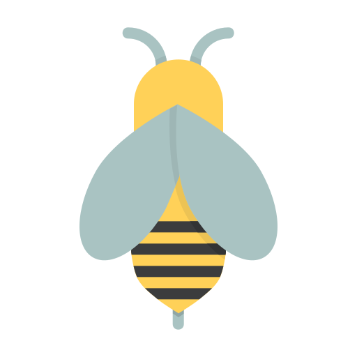 Honey, Bee, Insect, Fly, Beekeeping, Apiary, Apiculture Icon Free