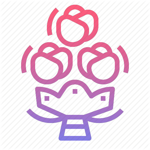 Bouquet, Flower, Honeymoon, Rose Icon