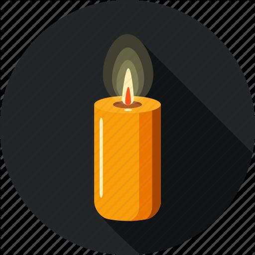 Candle, Faith, Hope, L Light, Shine Icon