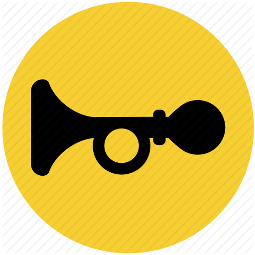 Car, Horn, Klaxon, Signal Icon