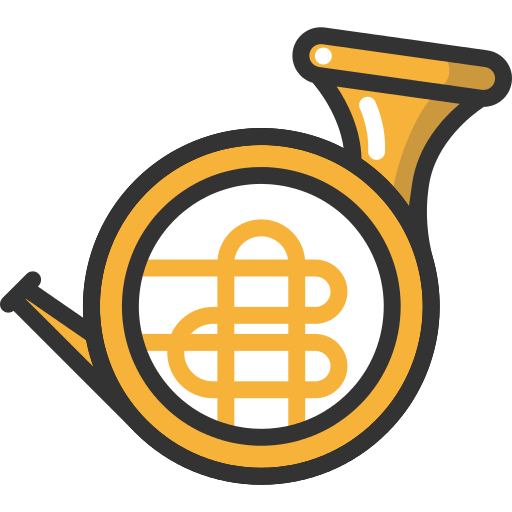French Horn Png Icon