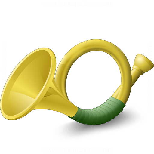 Iconexperience V Collection Post Horn Icon