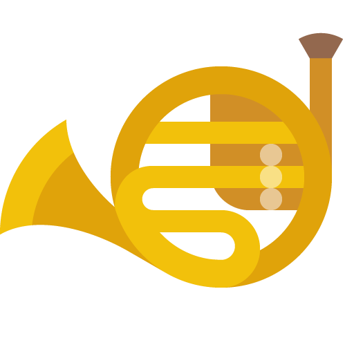 French, Horn, Musical, Instrument Icon Free Of Musical