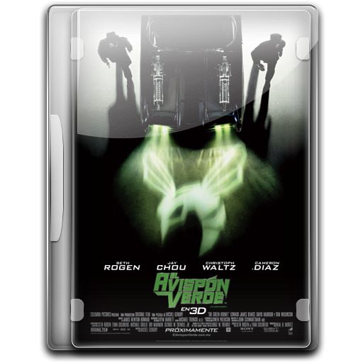 The Green Hornet Icon English Movies Iconset Danzakuduro