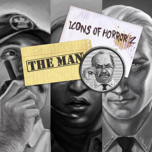 Icons Of Horror The Man Marketplace Digital Goods