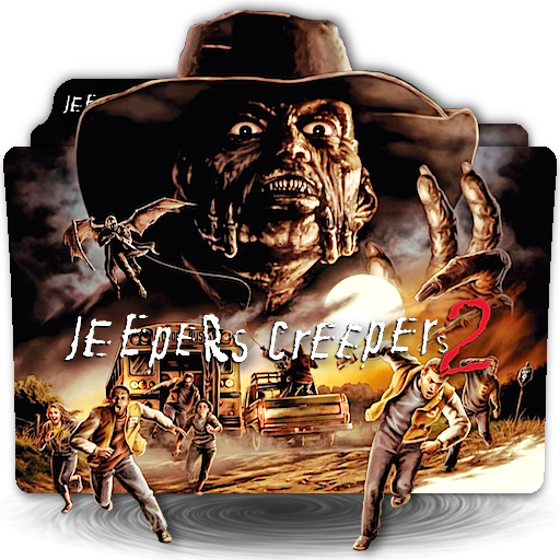 Jeepers Creepers Movie Folder Icon