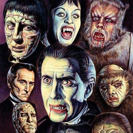 Pure Classic Horror Hammer Monsterama In Hammer Horror