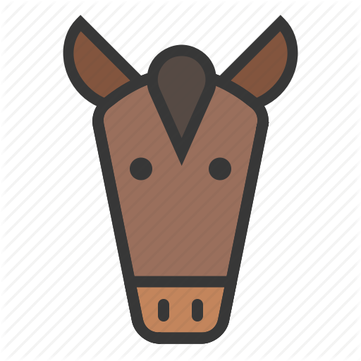 Animal, Face, Farm, Head, Horse Icon