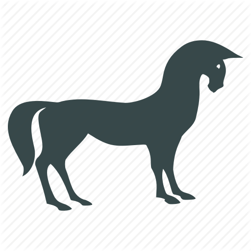 Animal, Horse, Mustang, Pony, Ride, Riding, Transport Icon
