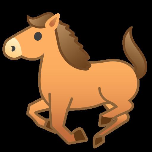 Horse Icon Noto Emoji Animals Nature Iconset Google