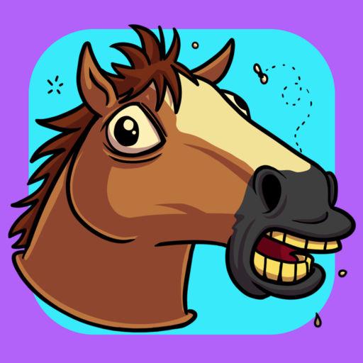 Jumping Horse Head Running Arcade Game