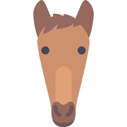 Equine, Animal, Trot, Horses, Trotting, Horse, Animals, Outlined