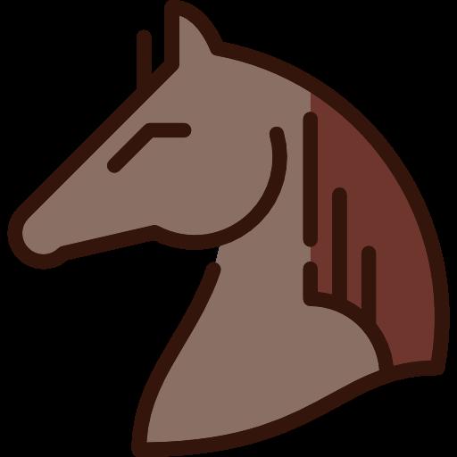 Western, Animal, Hair, Horsehair, Head, Animals, Horse Icon