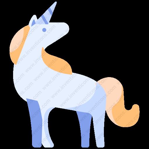 Download Unicorn,horse Icon Inventicons
