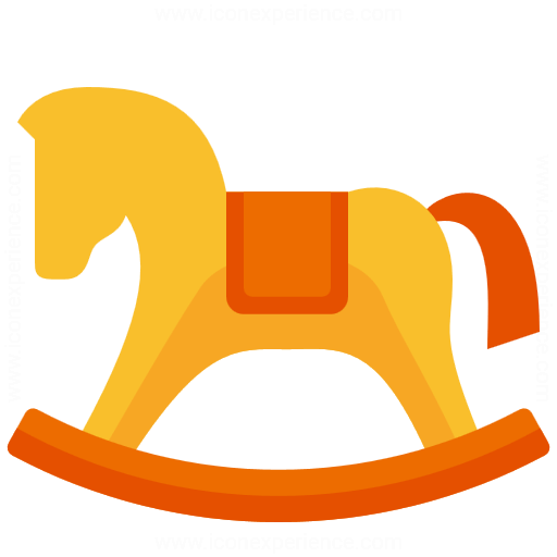 Iconexperience G Collection Rocking Horse Icon