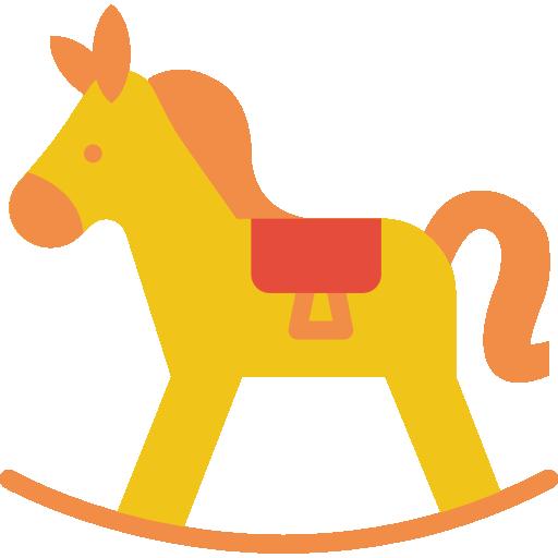 Rocking Horse Icon Baby Smashicons
