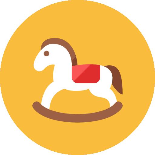 Wooden Horse Icon Kameleon Iconset Webalys