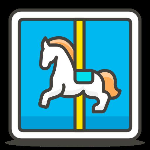 Carousel, Horse Icon Free Of Free Vector Emoji