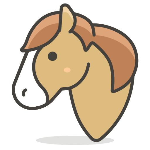 Horse, Animal Icon Free Of Another Emoji Icon Set