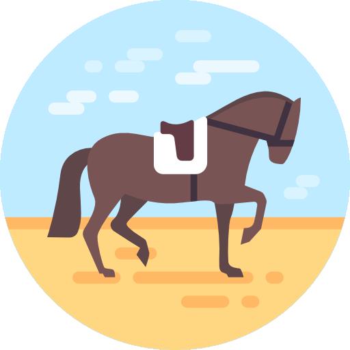 Equestrian, Complex Facilities Icon