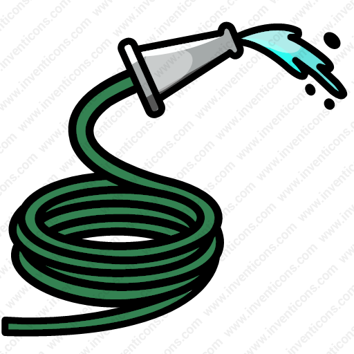 Download Hose,garden,gardening,hose,water,watering,fire Icon