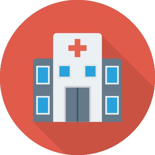 Hospital Icon Medical Dinosoftlabs