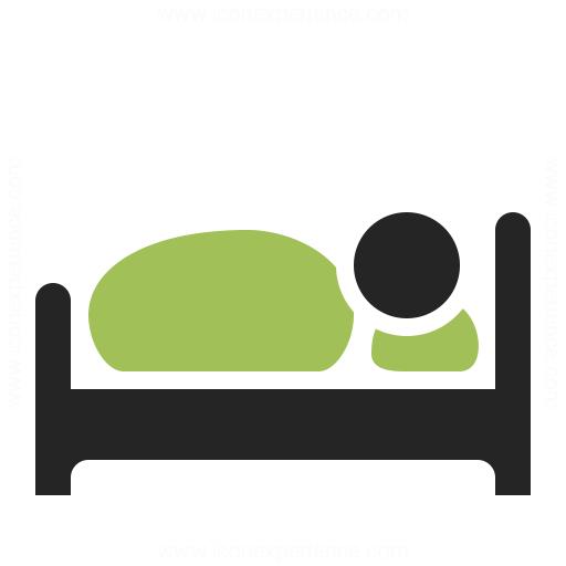Bed Icon Iconexperience