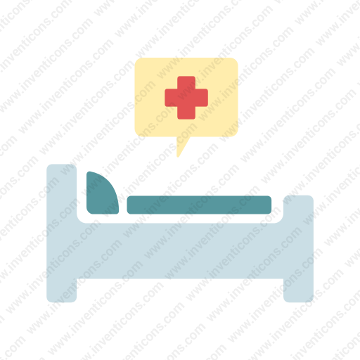 Download Hospital,bed Icon Inventicons