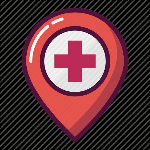 Doctor, Healthcare, Hospital, Map, Marker, Navigation, Pn