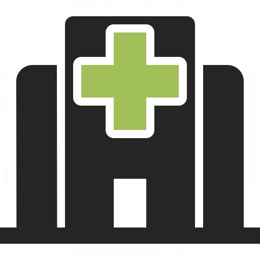 Hospital Icon Iconexperience