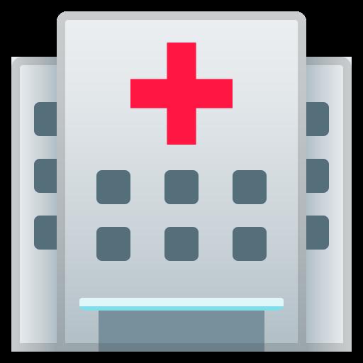 Hospital Icon Noto Emoji Travel Places Iconset Google