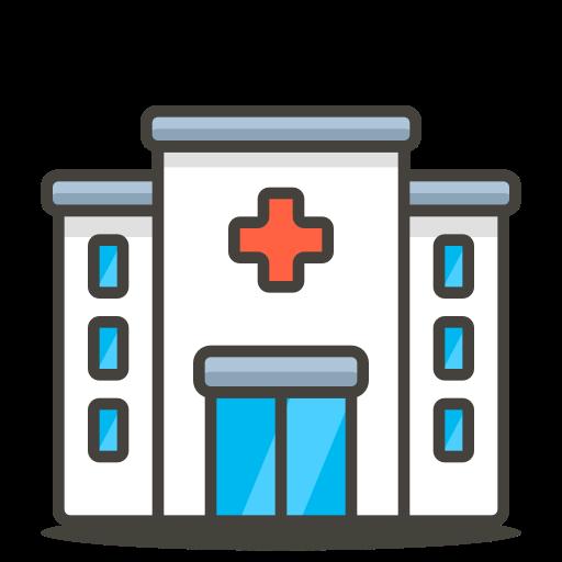 Hospital Icon Free Of Free Vector Emoji