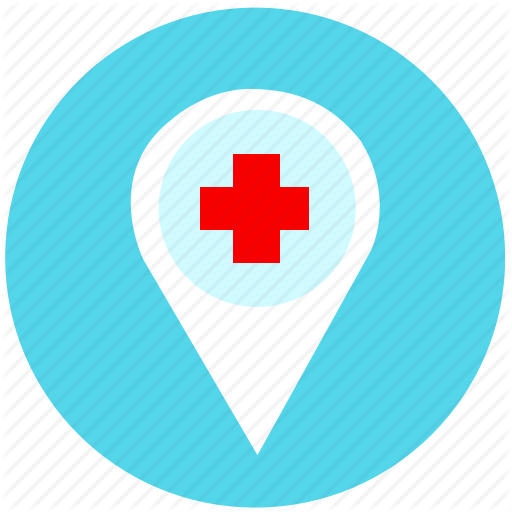 Hospital, Map, Medicine, Transparent Png Image Clipart Free Download