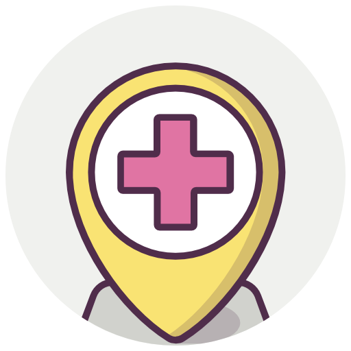 Medical, Location, Hospital, Map Marker Icon Free Of Medicine Vol