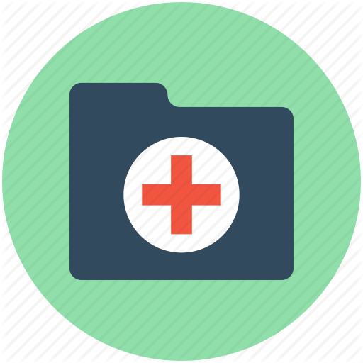 Folder, Hospital Data, Hospital Documents, Hospital Record