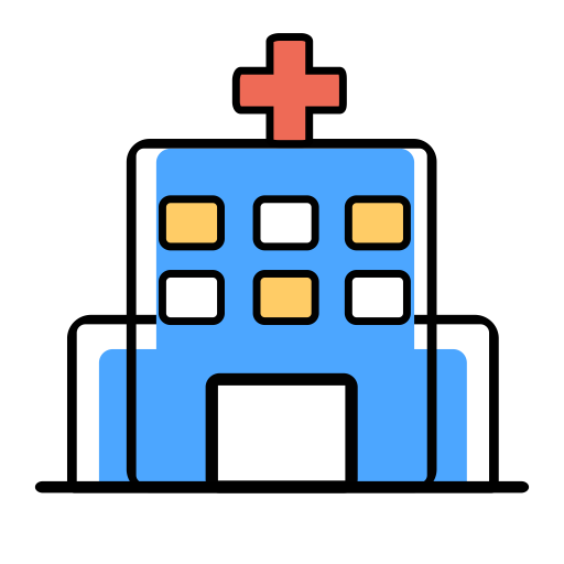 Hospital, Hospital Building, Hospital Facility Icon Png And Vector