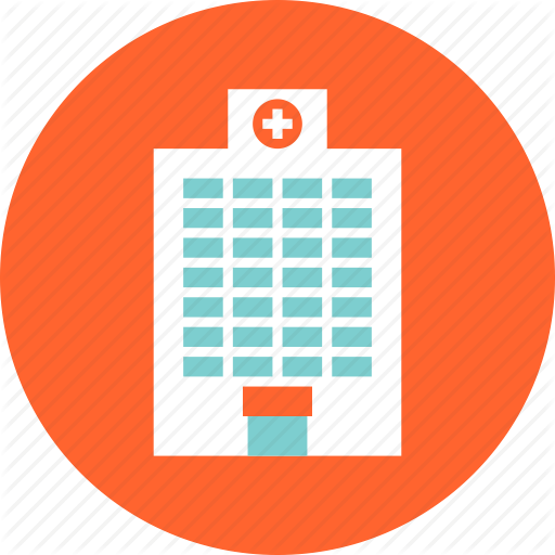 Orange Hospital Clinic Icon
