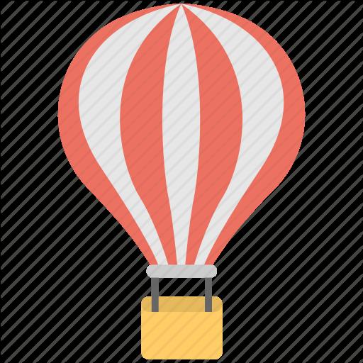 Air Ride, Big Balloon, Hot Air Balloon, Ride, Travelling Icon