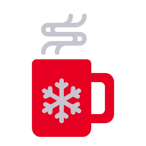 Chocolate, Cup, Mug, Hot, Drink, Christmas, Xmas Icon Free