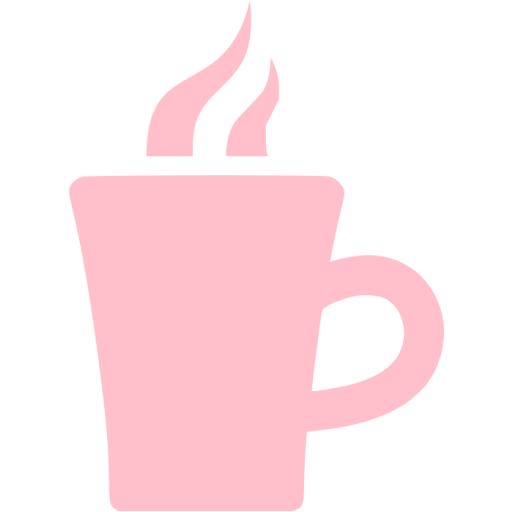 Pink Hot Chocolate Icon
