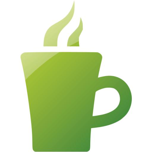 Web Green Hot Chocolate Icon